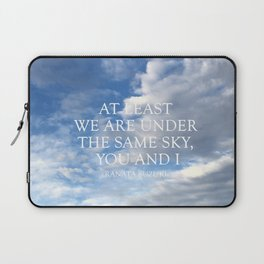 The Same Sky Laptop Sleeve