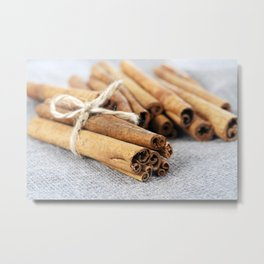 spices and food Metal Print
