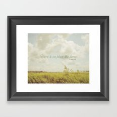 There is no place like home -The Wizard Of OZ Framed Art Print