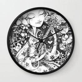 Weeping Widow Wall Clock
