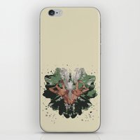 camouflage iPhone & iPod Skins featuring CAMOUFLAGE by GEEKY CREATOR
