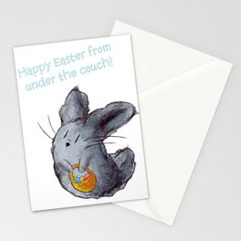 Dusty Easter Bunny Stationery Cards