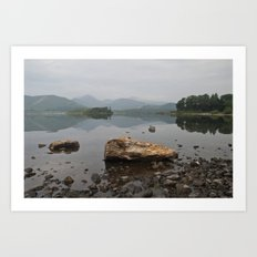 Derwentwater, Lake District Art Print