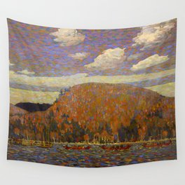 Tom Thomson The Pointers Canadian Landscape Artist Wall Tapestry