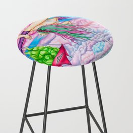 Pole Stars - LIBRA Bar Stool