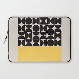 Mid century modern, mid-century wall art, print, geometric wall art, abstract wall art, interior, ma Laptop Sleeve