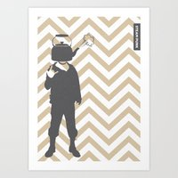 steam punk Art Prints featuring Steam Punk by Jade Deluxe