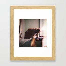 X V . S I N I S T E R Framed Art Print