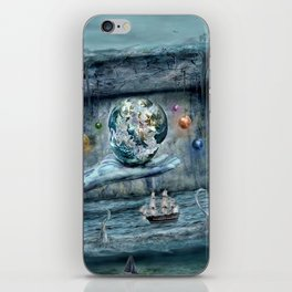 Save our World 20  iPhone Skin