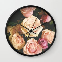 Stop to smell the roses... Wall Clock