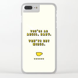 You're an Angel, Baby Clear iPhone Case
