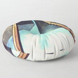 Building Reflections Floor Pillow