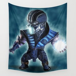Caricature of Sub Zero Wall Tapestry