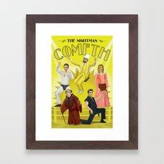It's Always Sunny 'Nightman Cometh' Broadway Poster Framed Art Print