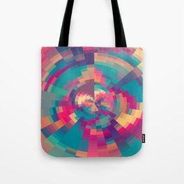 Spiral Of Colors III Tote Bag