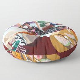 Tiger Queen Floor Pillow