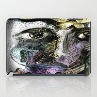 henna iPad Cases featuring Henna Man by John Hansen