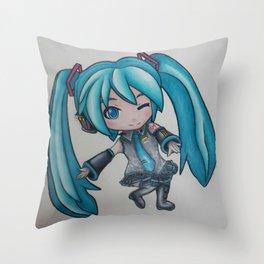 Hatsune Miku Throw Pillow
