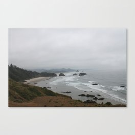 The Coast From Ecola Canvas Print