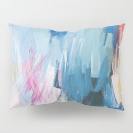 Abstract Neon Painting Pillow Sham
