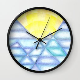 Klee Inspiration N°2 Wall Clock