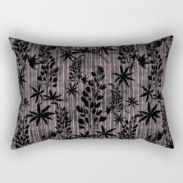 Floral pattern. Rectangular Pillow