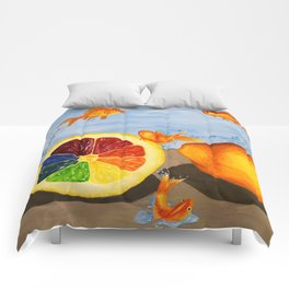 Fish R Friends, Not Food Comforters