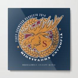 Moosegarden Entropy Metal Print