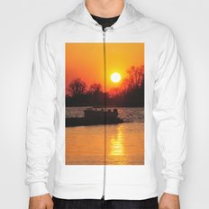 Silhouettes and Fire Hoody
