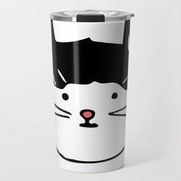 Noop Kitty Benji Cat Travel Mug