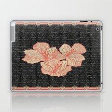 Burlap & Flowers 2 Laptop & iPad Skin
