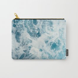 Ocean top view Carry-All Pouch
