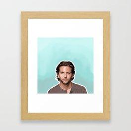 Bradley Cooper  Framed Art Print