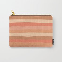 Layer Cake Stripes in Blush Tones Carry-All Pouch