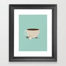Cafe Framed Art Print