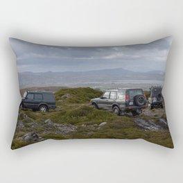 Where to next? Rectangular Pillow