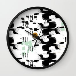 Safety Catch Wall Clock