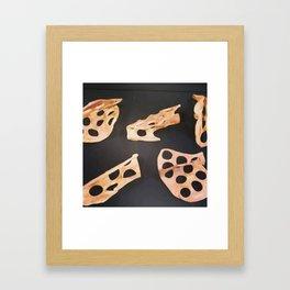 cavity space Framed Art Print