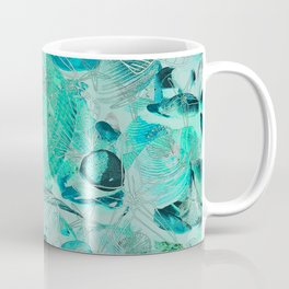 Shells V03 AQUAMARINE Coffee Mug