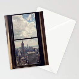 Empire State Building Views, New York City Stationery Cards