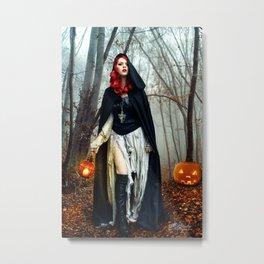 Autumn Hours Metal Print