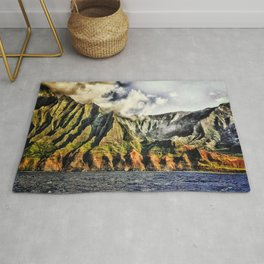 Searust Na Pali, Kauai Rug