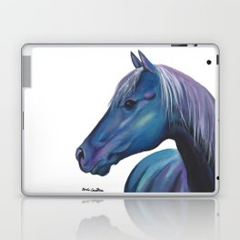 Blue Horse Laptop & iPad Skin
