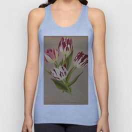 Arendsen, Arentine H. (1836-1915) - Haarlem's Flora 1872 - Single Early Tulips 5 Unisex Tank Top