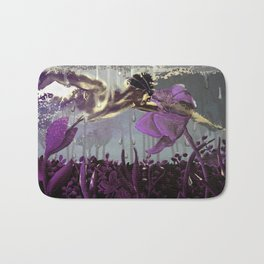 PURPLE DIVE Bath Mat