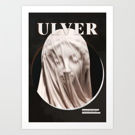 Ulver - Berlin 2017 Art Print