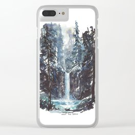 Somewhere Only We Know Clear iPhone Case