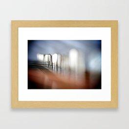 Kantele, detail Framed Art Print