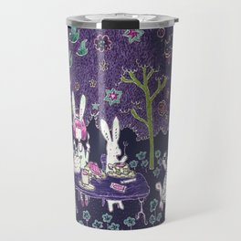 Tea Party in the Curious Forest Travel Mug