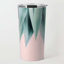 Agave fringe - blush Travel Mug